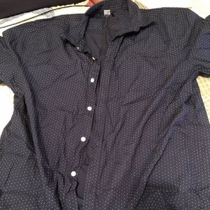 Men's XL Slim Fit Button Up Shirt
